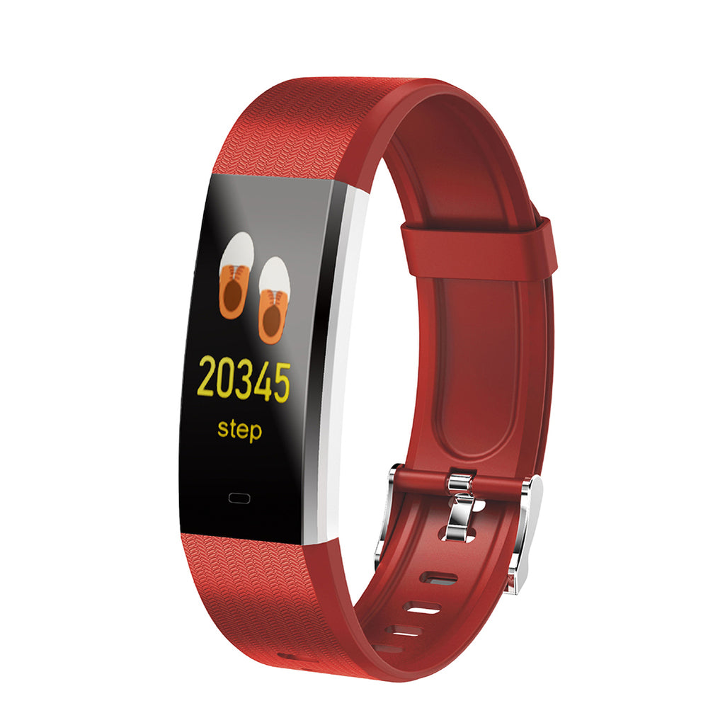 V5 Color Screen Smart WristBand-Red