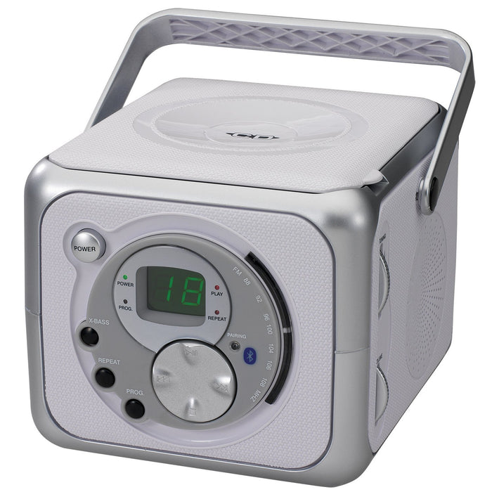 Audio & Video Gadgets Jensen Portable Bluetooth Music System with CD Player