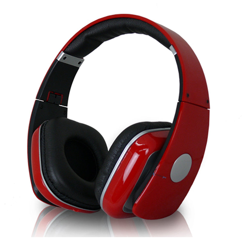 Audio & Video Gadgets Technical Pro Adjustable Hheadband Professional Headphones- Red