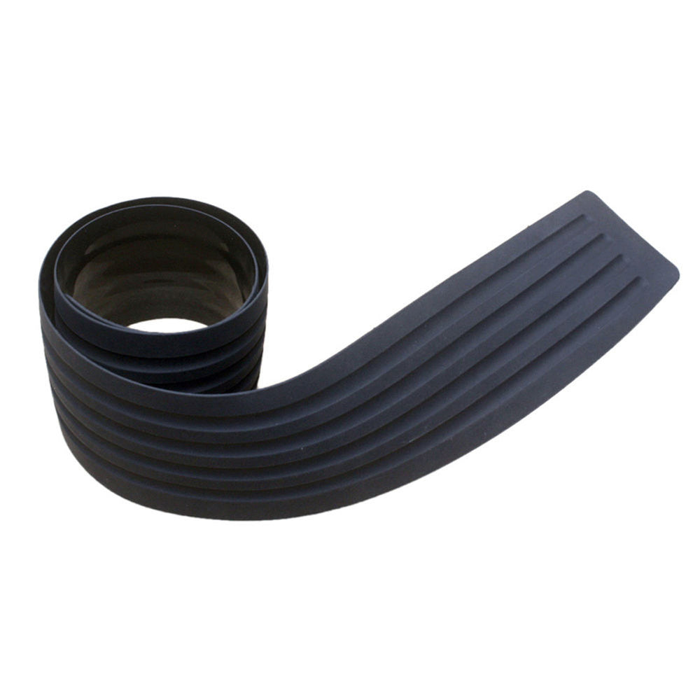 "35"" Car Rear Trunk Sill Plate Bumper Guard Protector Rubber Pad For SUV Truck"