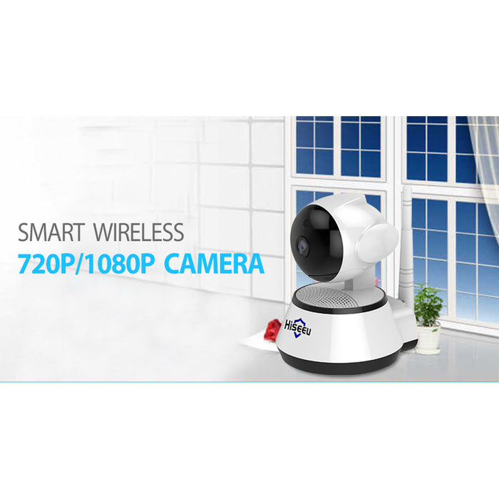 Home Security IP Camera Wireless Smart WiFi Camera Audio Record Baby Monitor HD Mini CCTV Camera (European regulations)