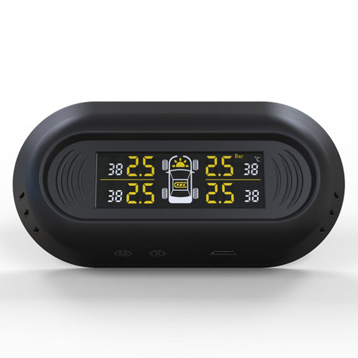 Car Tire Gauges Pressure Monitoring System - TPMS Vehicle Wireless Digital LCD Display