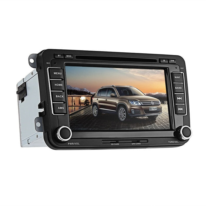 Car DVD Players 2 DIN Car DVD Player - For Volkswagen Magotan, 7 Inch HD Display, Region Free DVD, Bluetooth, WiFi, 3G, CAN BUS, GPS, Android 6