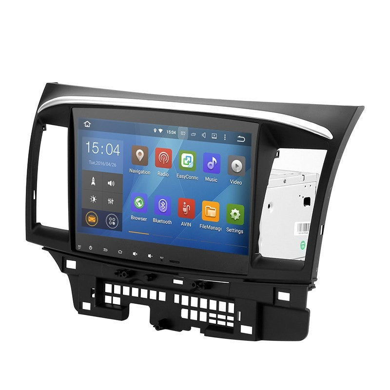 Car DVD Players Mitsubishi Lancer 2 DIN Car Media Player - Android 5.1.1, Quad-Core CPU, 10.2-Inch Display, GPS, Wi-Fi, Google Play