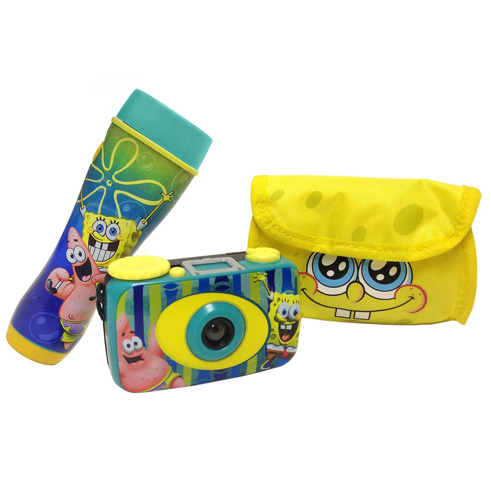 Cheap & Cool Gadgets SpongeBob Squarepants Flashlight  and Camera Kit