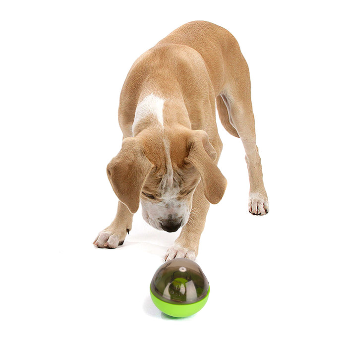Treat Dispensing Dog Toy - For Small And Medium Sized Dogs, Holds Dog Treats, Stimulates Mental Development, Durable Design