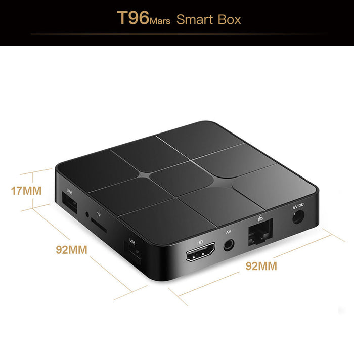 Smart Android TV Box Android 7.1 RK3229 Quad Core 4K 1GB/8GB HD Media Player TV Box UK Plug