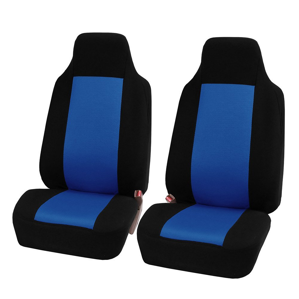 2pcs/set Universal Car Front Seat Cushion-Blue