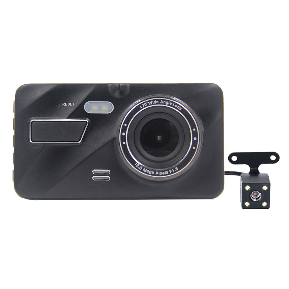 4inch Cam Dual Lens Car Camera Recorder 1080P Front Rear Dual Recording Car Reversing Image