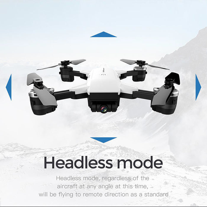 Mini Folding Camera Drone I9HW - 2MP 720P Camera, Folding Arms, FPV, 6 Axis Gyro, Return Home, Headless Mode, Altitude Hold