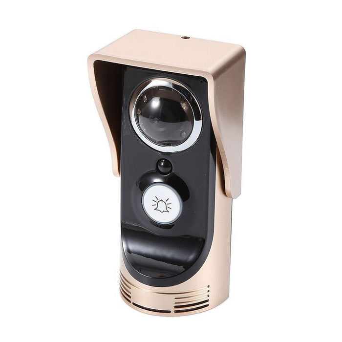 Wifi Video Audio Camera Door Bell Gold US