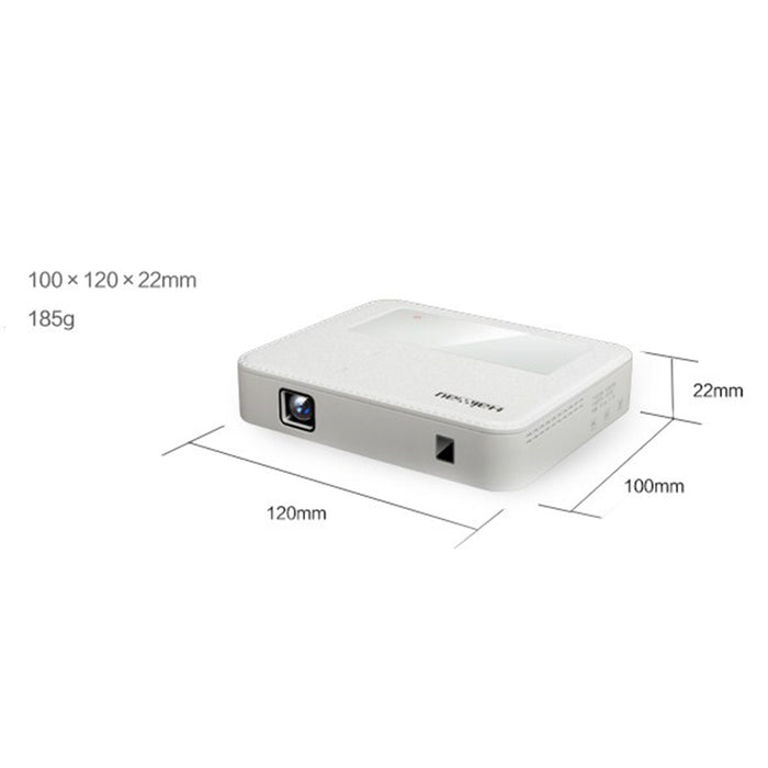 Portable Mini Projector Smart Wireless Mobilephone Connection for Office Teaching