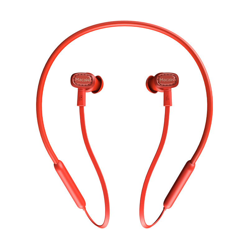 Macaw TX-80 Wireless Bluetooth Earphone Sport Stereo Mini Hanging Neck Noise Cancellation Headset