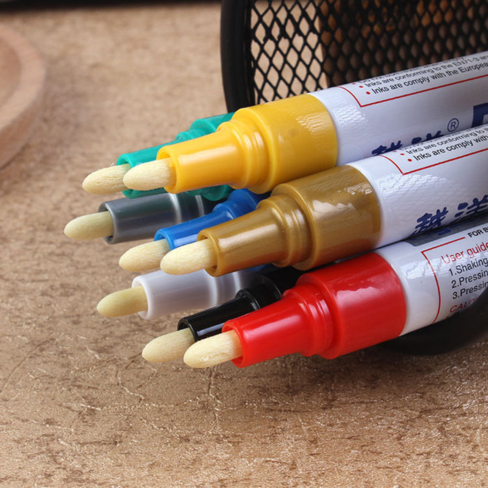 Waterproof Permanent Pen Car Tyre Tire Tread CD Paint Markers Graffiti Oily Marker Pen