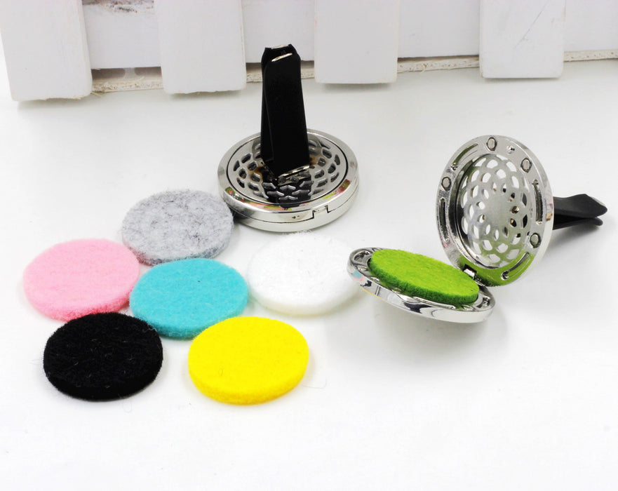 Tree Pattern Car Styling Outlet Perfume Clips Vent Air Freshener Purifier Perfume Essential Oil Diffuser