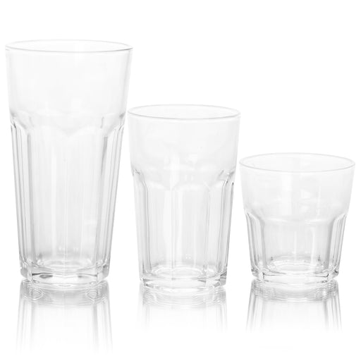 Better Chef 18-Piece Glassware Set