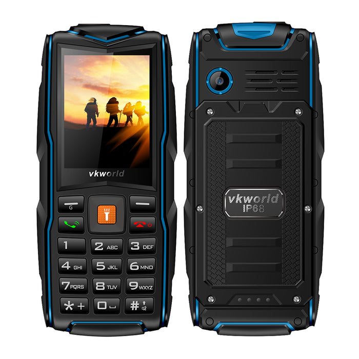 2.4 Inch 1.3 Million Pixels Quad Band Phone