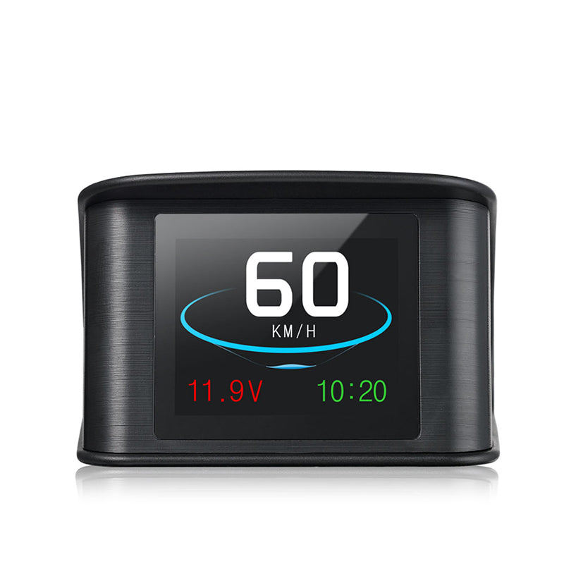 T600 Automobile OBD2 GPS Computer Car Digital OBD Driving Speedometer Mileage Fuel Voltage Temperature TFT HUD Display