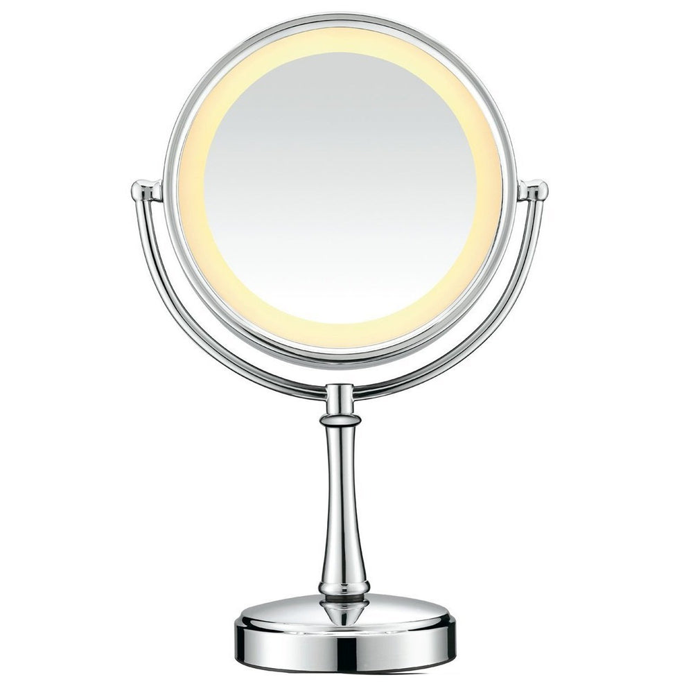 Health & Lifestyle Conair Polished Chrome Touch Control Lighted Makeup Mirror