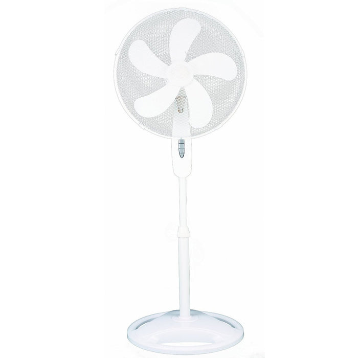 "Home 16"" Oscillating Stand Fan 5 Blade"
