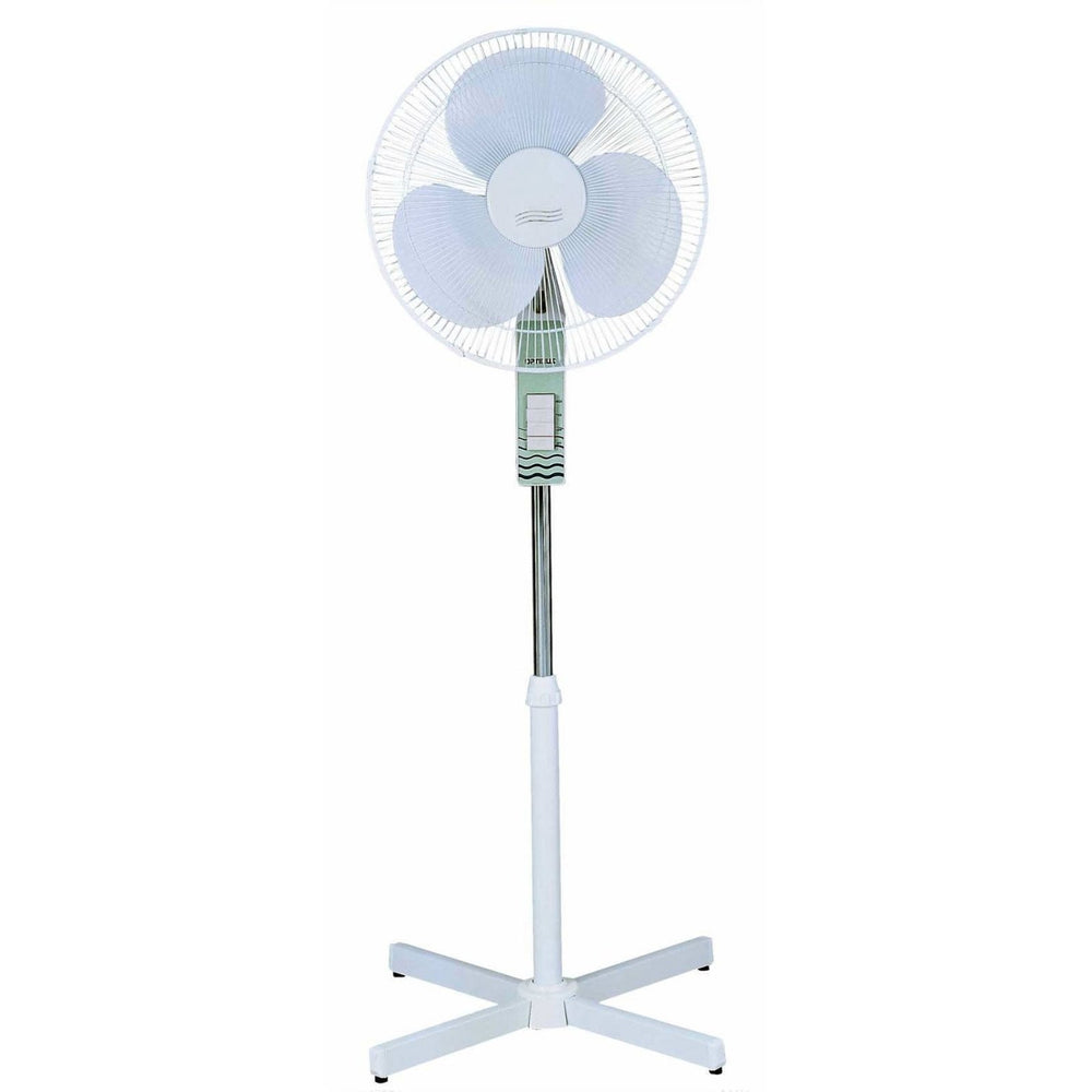 "Home 16"" Oscillating Stand Fan Piano Key Switch"