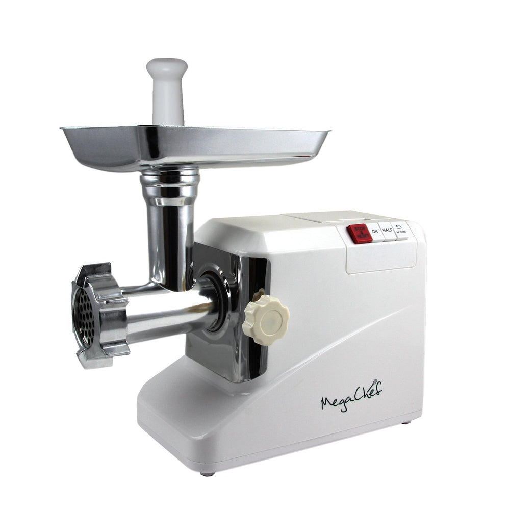 Home MegaChef 1800 Watt High Quality Automatic Meat Grinder for Household Use