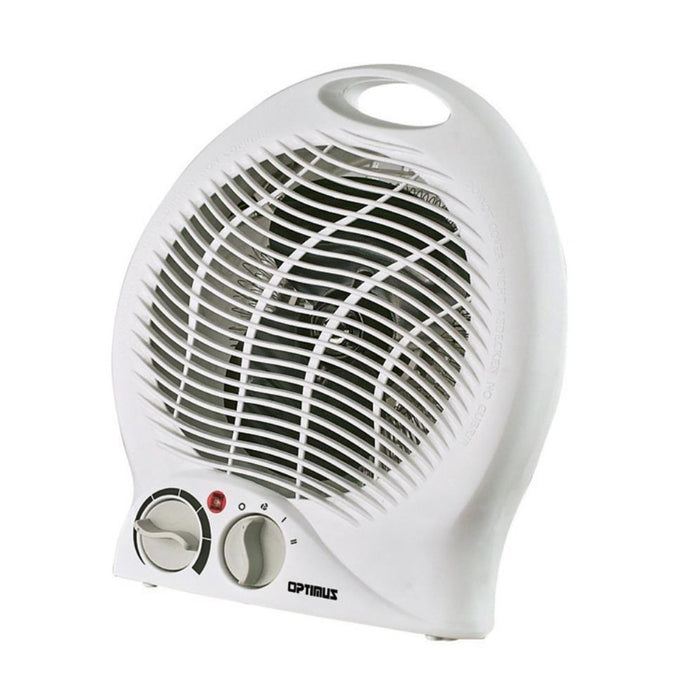 Home Optimus Portable Fan Heater with Thermostat