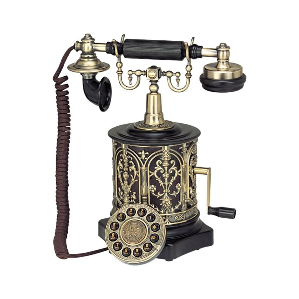 Home Paramount 1893 Coffee Mill Nostalgic Vintage Style Telephone