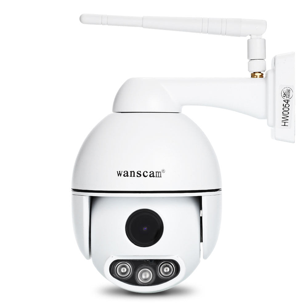 EU Plug WANSCAM HW0054 Outdoor WiFi HD IP Camera IR Night Vision 1080P 2MP Two-Way Audio Camera