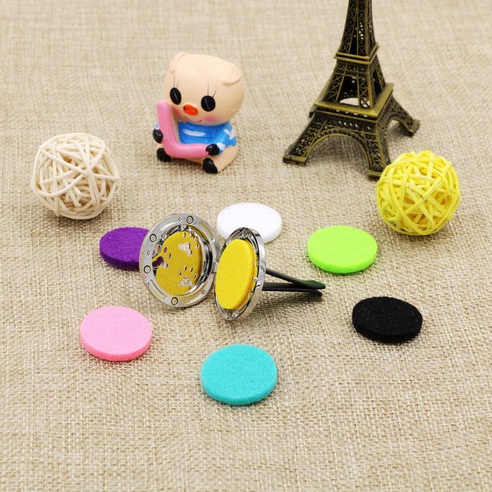 Paw Pattern Car Styling Outlet Perfume Clips Vent Air Freshener Purifier Perfume Essential Oil Diffuser