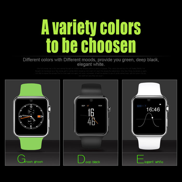 DM09 1.54 Inch Smart Bracelet Pedometer Smart Sport Watch Sleeping Monitor Green