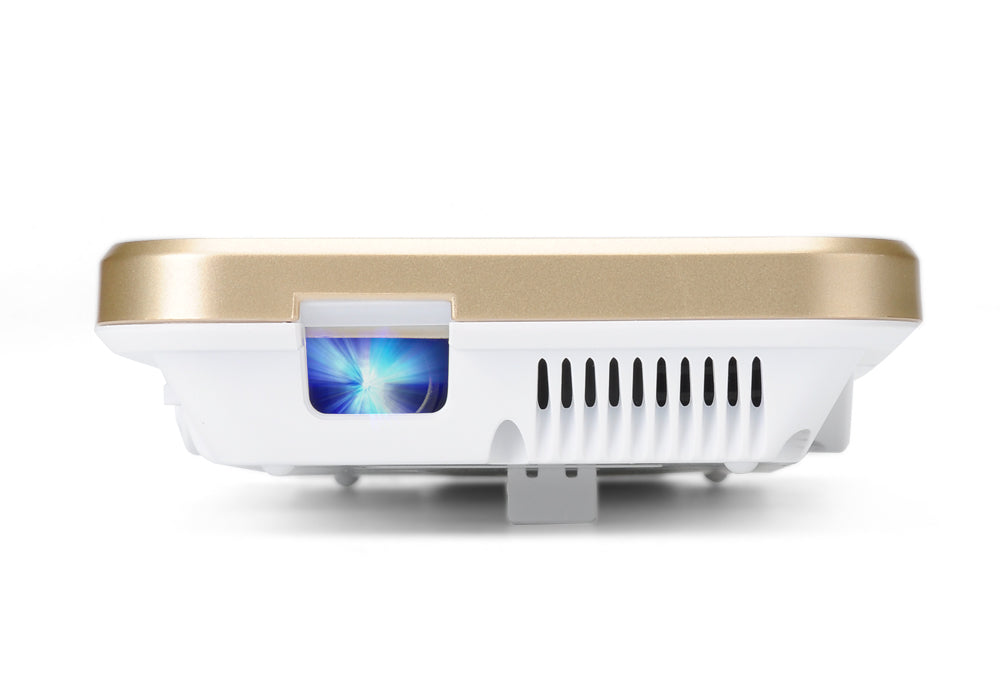 Mini DLP Projector 'iBeam i60+' - Projector For iPhone 6, 6 Plus, 6S, 854x480 Resolution, 80 Lumen, 2400mAh Battery