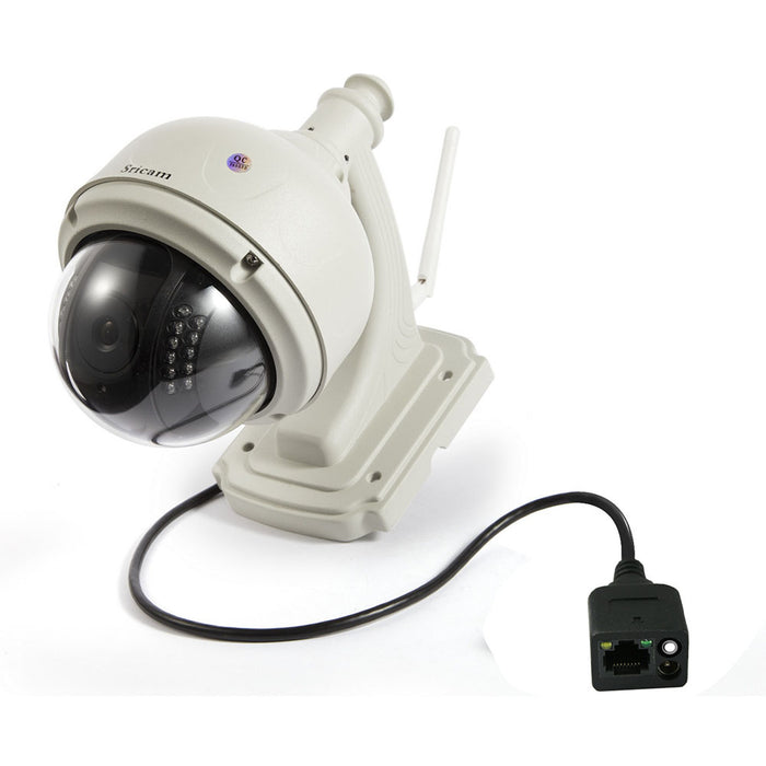Sricam SP015 Wifi IP Camera Wireless 720P HD CCTV Wireless IR-Cut Security Waterproof Outdoor Dome Camera-EU