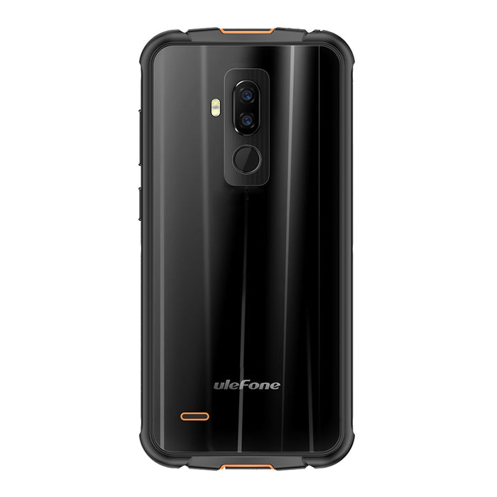 "Ulefone Armor 5 IP68 Waterproof Mobile Phone Android 8.1 5.85"" HD+ Octa Core 4GB RAM+64GB ROM NFC Face ID Wireless Charge Black"