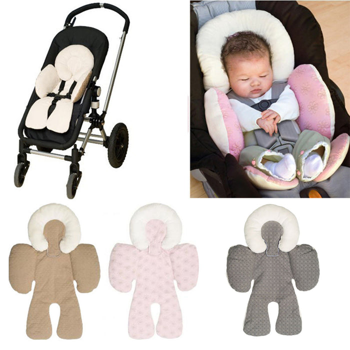 Baby Infant Carriage Cushions Car Seats-Pink
