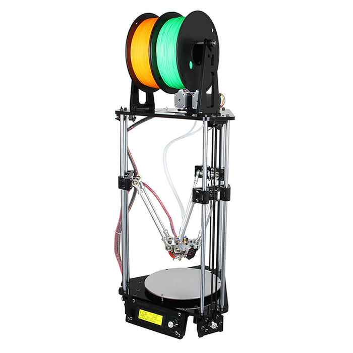 3D Printer Geeetech Delta Rostock Mini G2s - DIY, Print 2 Colors, Auto-Leveling, Wide Filament Range, Large Printing Volume