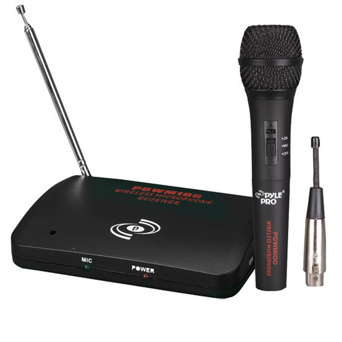 Pyle Dual Function Wireless/Wired Microphone System