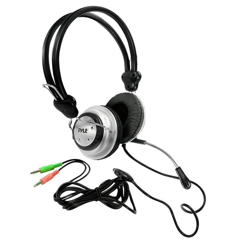 audio video generix llc PS3 Direct TV pyle stereo pc multimedia headset microphone