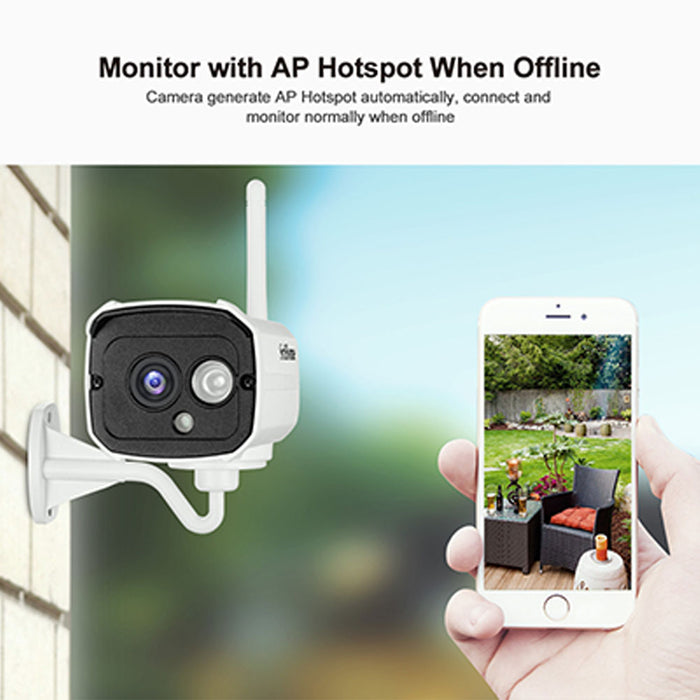 HD 1080P 2 Million Pixels Home Security IP Camera Wireless Smart WIFI Camera Audio Record Baby Monitor EU Plug