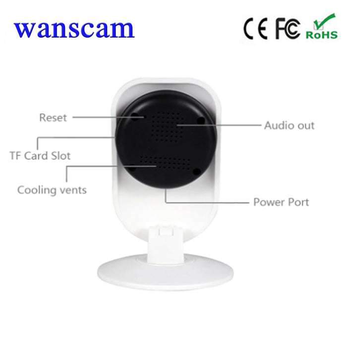 WANSCAM HEU W0026 Mini WiFi IP Camera Wide Angle P2P Wireless Network Security Two-way Audio Talk Baby Monitor