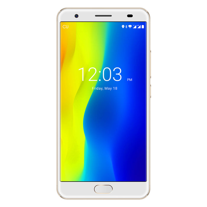 5.5 Inch MTK 6750T 4GB + 64GB Gold Smart Phone