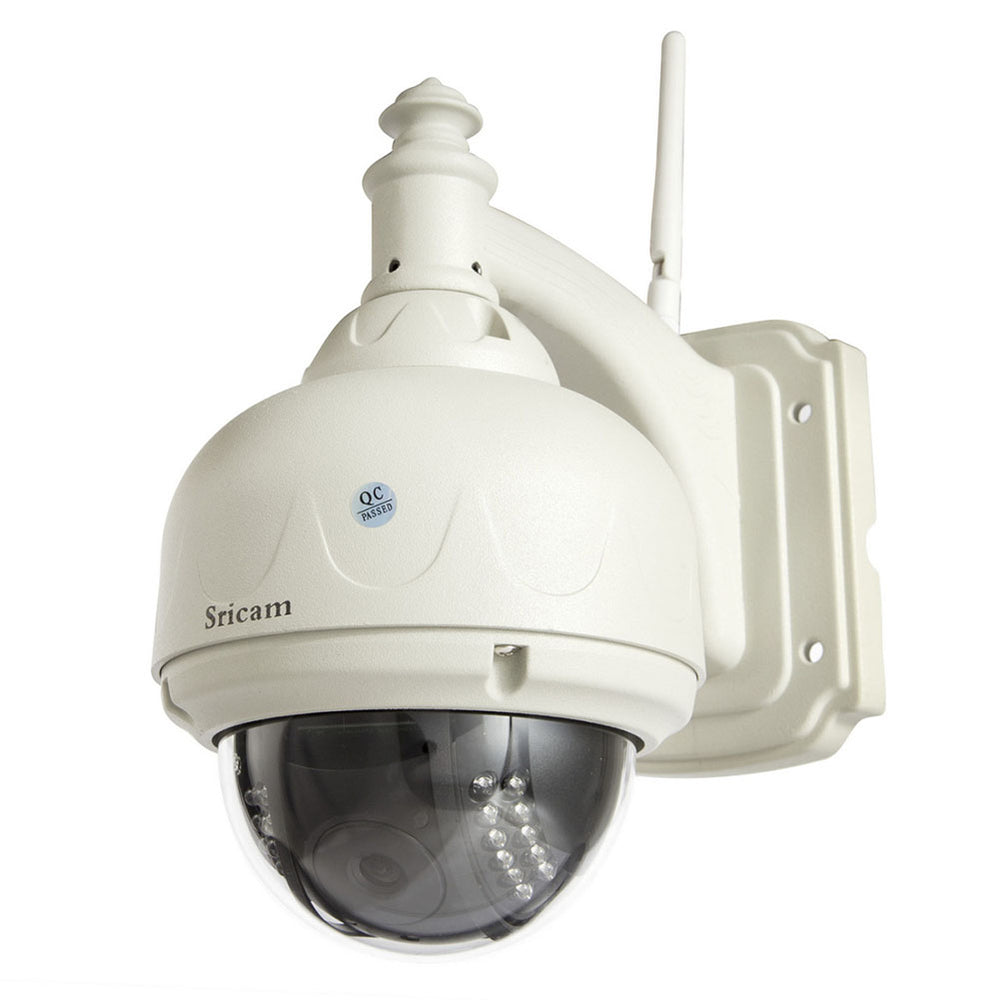 Sricam SP015 Wifi IP Camera Wireless 720P HD CCTV Wireless IR-Cut Security Waterproof Outdoor Dome Camera-US