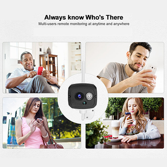 HD 1080P 2 Million Pixels Home Security IP Camera Wireless Smart WIFI Camera Audio Record Baby Monitor US Plug