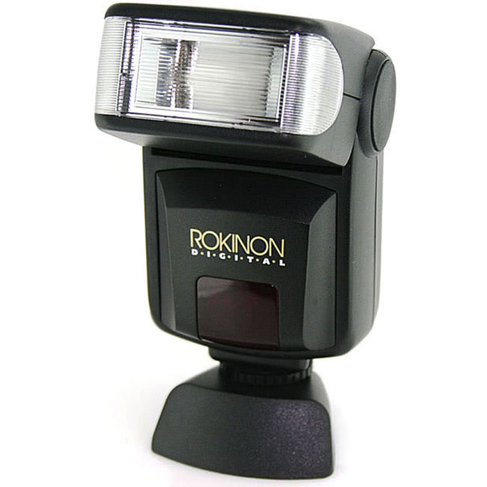 Rokinon Digital AF Bounce Flash w/Bracket, Guide Number 28 - For Olympus/Panasonic