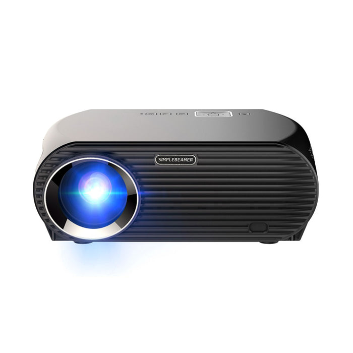 HD Android Projector - Android 6.0, 5.8-Inch LCD, 800p, Quad-Core, 1GB RAM, 360 Lumen, 8GB ROM, WiFi, Google Play, Bluetooth