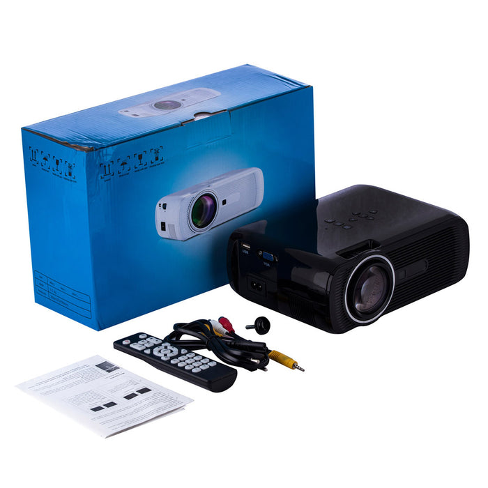 HD Projector 1080P LED Mini Projector 3000 Lumens Portable Home Theater Video Projector (Australian regulations)
