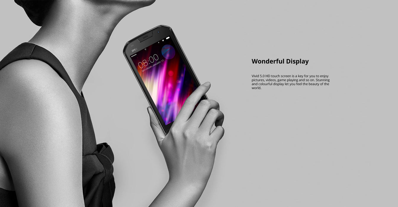 DOOGEE S30 5.0 Inch IP68 Waterproof Smart Phone