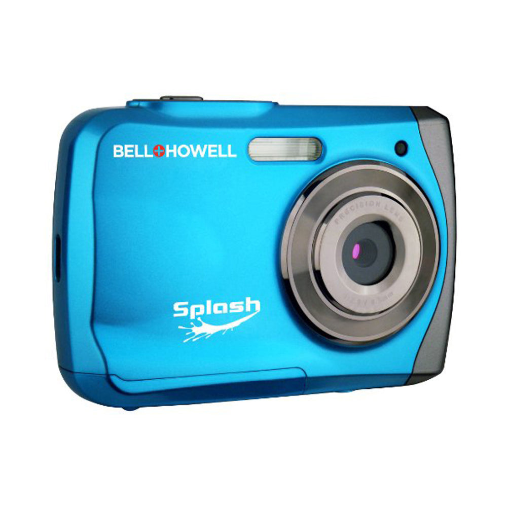 Bell+Howell Splash WP7 12 MP Waterproof Digital Camera-Blue