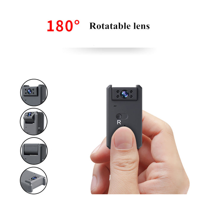 HD 4K Wifi Mini Camera Motion Detection Camcorder Wide Angle Night Vision Micro Camera