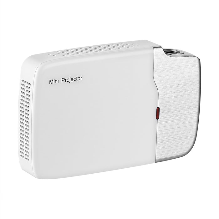 Mini DLP Projector G605 - Android 5.0 OS, 150 ANSI Lumen, 1000:1 Contrast Ratio, 5400mAh Battery, Wi-Fi, Bluetooth, HDMI, USB